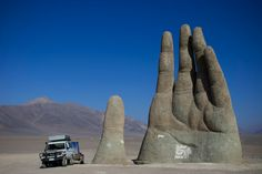 The Giant Hand, Atacama Desert, Chile - 40 Unusual and Creative Statue and Sculpture Art