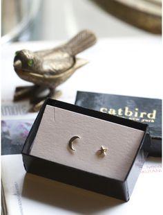 Tiny Dancer earrings, a Catbird classic