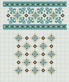 Celtic Cross Stitch, Mini Cross Stitch, Cross Stitch Borders, Cross Stitch Flowers, Cross Stitch Designs, Cross Stitching, Cross Stitch Embroidery, Cross Stitch Patterns, Needlepoint Patterns