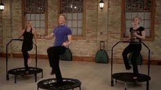 Cellercise® Rebounder - Calisthenics: Lower Back Exercises Dance Workout Videos, Exercise Videos, Workout Exercises, Rebounder Workout, Workouts, Trampoline Workout, Lower Back Exercises, Calisthenics, Rebounding