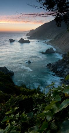 California Coast--One of my favorite places on earth.