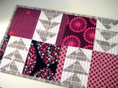 Flying Geese Placemats Tutorial - Sew Mama Sew