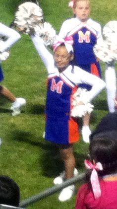 My cheerleader.