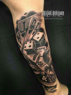Related image tatouage poker, dice tattoo, v tattoo, poker tattoo, card tattoo Chicano Tattoos, Lettrage Chicano, Dog Tattoos, Tattoos For Guys, Tattoos For Women, Future Tattoos, Poker Tattoo, Dice Tattoo, V Tattoo