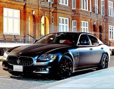 Maserati Quattroporte Sport GTS matte black