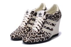 best sneakers 394a1 43aa3 Adidas Wedge Animal Pattern Leopard High Heels For Sale Adidas Jeremy Scott  Wings, Adidas High