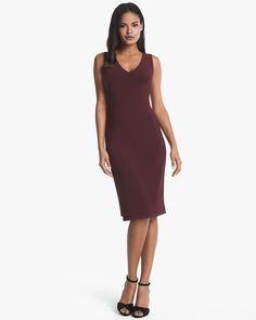 Reversible Sleeveless Leopard Print Sheath Dress