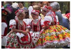 Young girls in spectacular Hungarian traditional   folk costume of Doroslovo (Doroszló) Vojvodina,  Serbia.