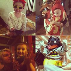 Gerard's daughter Bandit Lee Way! so cute!!!
