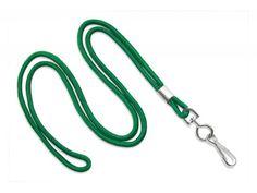 2135-3004 Green Round Lanyard with NPS Swivel Hook