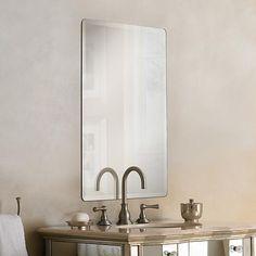 "Galvin Frameless Beveled 24"" x 36"" Wall Mirror - #P1400   LampsPlus.com"