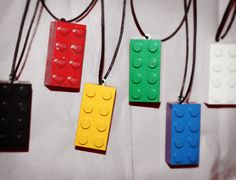SALE10 The Lego Movie Party Favors Necklaces Supplies Decorations Birthday Party