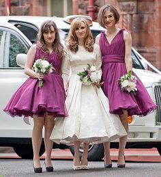 11 Celebrity Bridesmaids Who Played Second Fiddles at their BFFS' Weddings