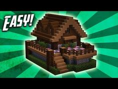 Minecraft how to build a survival starter house tutorial 8