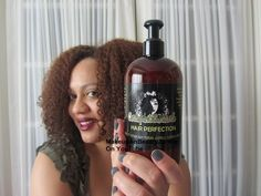 In Review:Coily Head Chick Hair Perfection- Natural curl defining products.  Looks good (moisture)