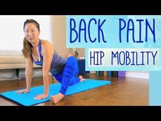Why Does Your Low Back Hurt? Relaxing Yoga to Open Hips, Low Back Pain Relief, 20 Min - Watch Video - Sports Ideas Low Back Pain Relief, Causes Of Back Pain, Lower Back Pain Exercises, Yoga Videos For Beginners, Middle Back Pain, Morning Yoga Flow, Hip Mobility, Back Pain Remedies, Back Hurts