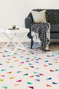 flooring geometric pattern