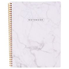 Large Spiral Journal - Marble, White by Indigo | Spiral Notebooks Gifts | chapters.indigo.ca