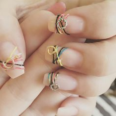 18 Bracelet Nails - The Latest Trend in Nail Art ★ See more…