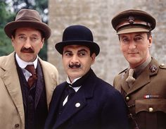 On the set of Poirot.