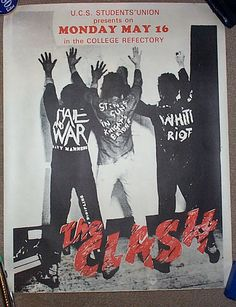the clash - i would have given anything to see them play live!