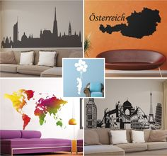 Wandtattoos gibt es in den verschiedensten Farben und Designs. ©tenstickers.de