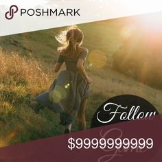 """My First Follow Game This Posh thing has me like """"WOW"""" and now I can't wait to grow my network. Lets help each other grow! 1. Like this listing. 2. Follow everyone who likes this post. 3. Share, share, share. Please tag your PFF's to spread the word.                                                                     Photcred to www.mediamarmalade.com Other"""