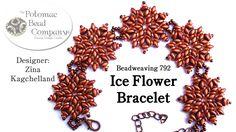 """Make an """" Ice Flower Bracelet """""""