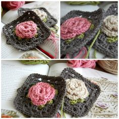 Pretty Granny Squares | A (little) Space of Mine Own