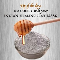 Learn to make in minutes a face mask that will cleanse your skin, tighten your pores and smoothen your skin.   - Indian healing clay removes impurities from your skin - Honey is full of antioxidants that helps you fight aging signs.