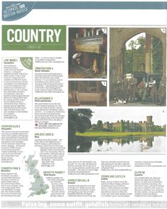 Gravetye Manor featured in The Sunday Times