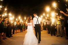 for night 10 Bridal Entry Ideas that have an Impact  !