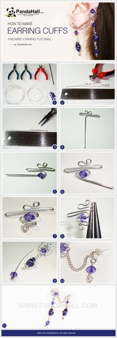 Ear Cuff - picture tutorial