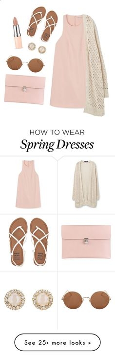 Spring cardi by diydesign on Polyvore featuring Rebecca Minkoff, Violeta by Mango, Billabong, Alexander McQueen, Kate Spade and Sunday Somewhere