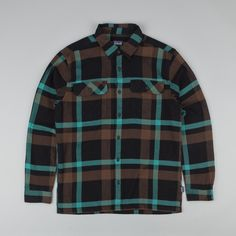 Patagonia Fjord Flannel Shirt - Cornstock: Alpaca Brown