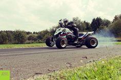 Outlaw with 4 cylinder Engine, quad Engine mod