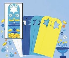 LAST FEW - TO CLEAR - SAVE £2 - Hanukkah Foam Door Hangers Craft Kit for Kids - Makes 12, Themed Crafts, Christian Crafts for Kids, kids crafts, childrens crafts, children's craft supplies, crafts for kids