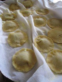 Mushroom ravioli--used this for the filling
