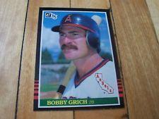 1985 Donruss Card #280 BOB GRICH