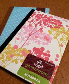 95. Currently obsessed with Greenroom notebooks. (I get mine at Target). Inexpensive, beautiful, and recycled!