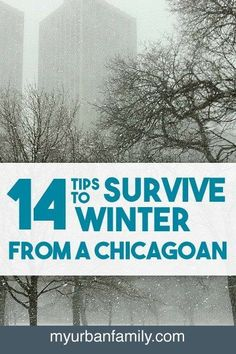 Winter can be tough, but after years of living in Chicago I've figured out a game plan to stay warm and survive winter. Read my 14 tips so you can too!