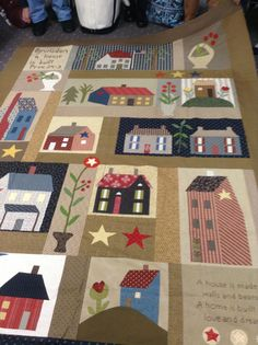 Timeless Traditions: More from quilt group.... Wisdom house by JP