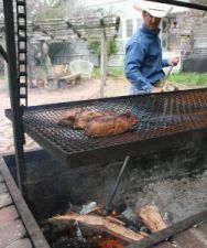 The beauty of Santa Maria Style Barbecue is that it delivers big flavors while being relatively easy to prepare. You can even take some flavorful shortcuts with Santa Maria Style Barbecue products … Smoker Recipes, Barbecue Recipes, Grilling Recipes, Churros, Italian Hot Dog, Bbq Tri Tip, Santa Maria Bbq, Homemade Smoker