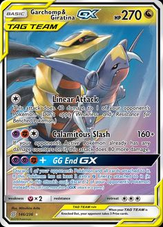 Garchomp & Giratina GX - SM - Unified Minds, Pokemon - Online Gaming Store for Cards, Miniatures, Singles, Packs & Booster Boxes All Pokemon Cards, Dragon Type Pokemon, Pokemon Cards Legendary, Pokemon In Real Life, Pokemon Online, Pikachu Art, Pokemon Alola, Pokemon Trading Card, Pokemon Party Decorations