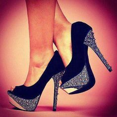 Wonderful Sequin Pumps - Fashion Diva Design