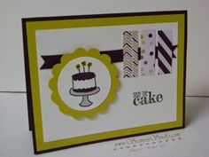Stampin' Studio, Stampin' Up! Endless Birthday Wishes, Something to Say, Moonlight DSP, In Colors