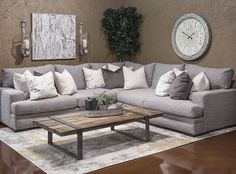 Hemispheres: A World Of Fine Furniture | Dylan Electrum Sectional