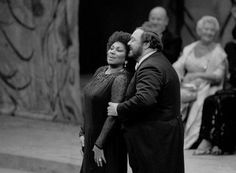 With the fabulous Leontyne Price
