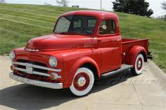 1952 Dodge 1/2 Ton Pickup Back in the day.