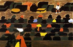 Jacob Lawrence 1917-2000 | African American Expressionist painter